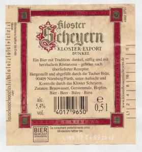 Kloster Scheyern Kloster- Export Dunkel