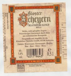 Kloster Scheyern Gold Hell