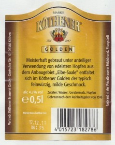 Köthener Golden Premium