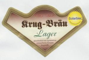 Krug- Bräu Lagerbier