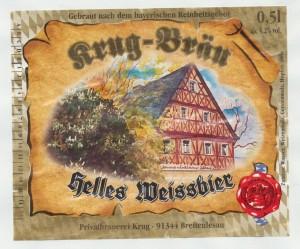 Krug- Bräu Helles Weissbier