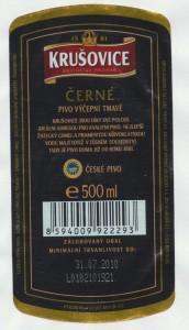 Krusovice Cerne