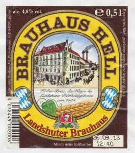 Landshuter Brauhaus Hell
