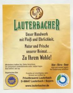 Lauterbacher Brotzeit- Bier