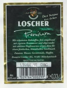Loscher Premium Pils