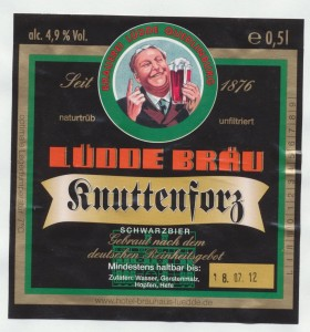 Lüdde Bräu Knuttenforz