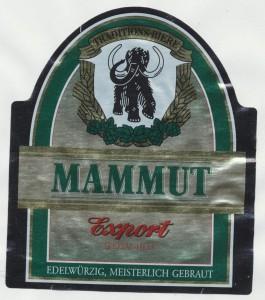 Mammut Export