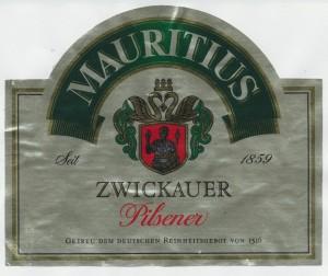 Zwickauer Mauritius Pilsener