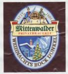 Mittenwalder Weihnachtsbock Dunkel