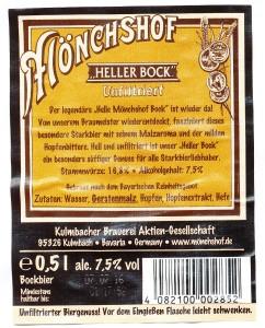 Mönchshof Heller Bock