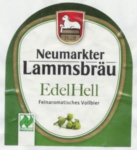 Neumarkter Lammsbräu EdelHell