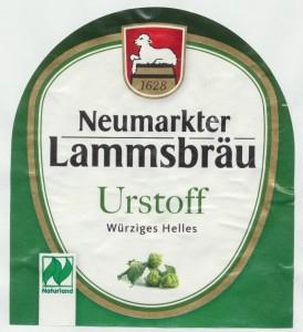 Neumarkter Lammsbräu Urstoff
