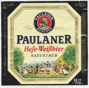 Paulaner Hefe-Weißbier Naturtrüb