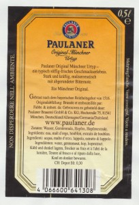 Paulaner Original Münchner Urtyp