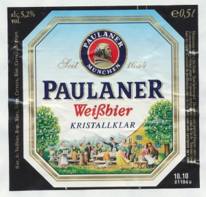 Paulaner Hefe-Weißbier Kristallklar