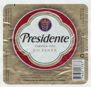 Presidente Pilsener