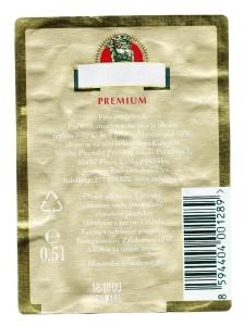Radegast Premium Světlý Ležák