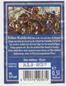 Ritter Kahlbutz Hopfenstange
