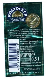 Rostocker Bock Hell Premium