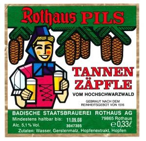 Rothaus Tannenzäpfle