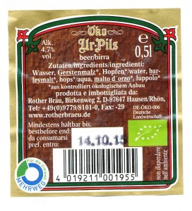 Rother Bräu Öko Ur- Pils