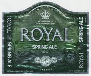 Royal Spring Ale