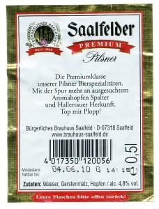 Saalfelder Premium Pilsener