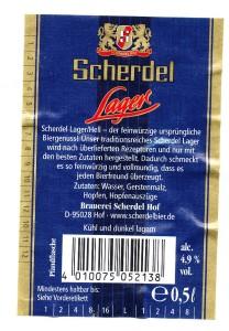 Scherdel Lager