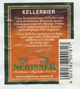 Schinner Kellerbier
