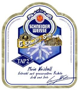 Schneider Weisse Tap2 Mein Kristall