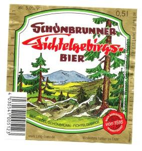 Schönbrunner Fichtelgebiergsbier