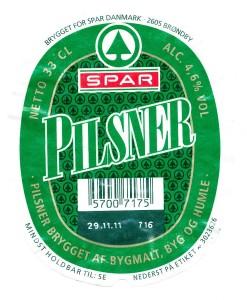 Spar Pilsener Dansk