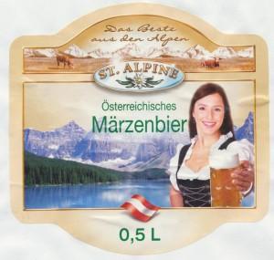St. Alpine Österreichisches Märzenbier