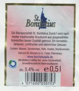 St. Bonifatius Zwickl