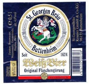 St. Georgenbräu Weißbier