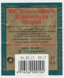 St. Marienstern Klosterbräu Spezial
