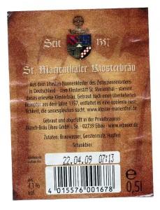 St Marienthaler Klosterbräu