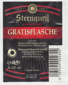 Sternquell Schwarzbier