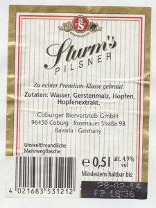 Sturm's Pilsener