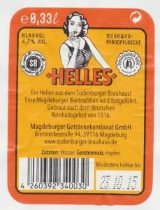 Sudenburger Brauhaus Helles
