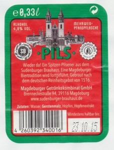 Sudenburger Brauhaus Pils