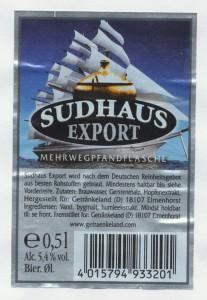 Sudhaus Export