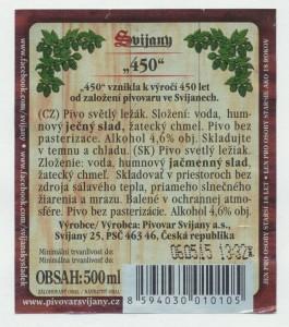 Svijany 450