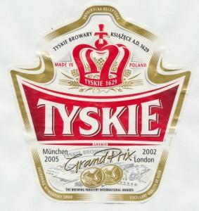 Tyskie Premium Lager
