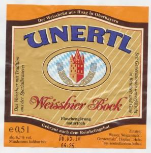 Unertl Weissbier Bock