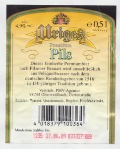 Uriges Premium Pils