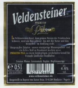 Veldensteiner Premium Pils