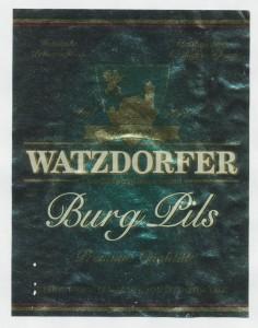 Watzdorfer Burg Pils