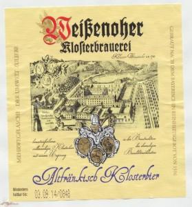 Weisenoher Altfränkisch Klosterbier
