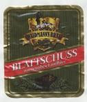 Weidmann's Bräu Blattschuss